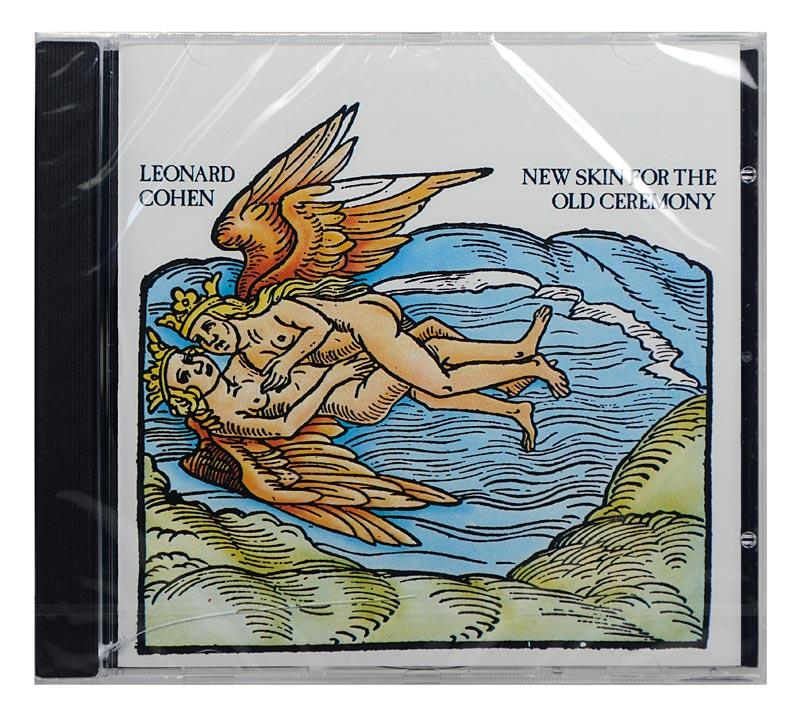CD Leonard Cohen - New Skin For The Old Ceremony - Importado - Lacrado