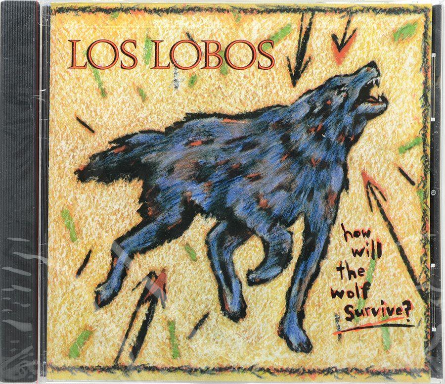 Cd Los Lobos - How Will The Wolf Survive? - Lacrado - Importado