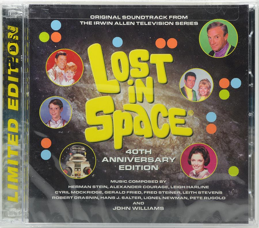 CD Lost In Space - 40Th Anniversary Edition - Lacrado - Importado