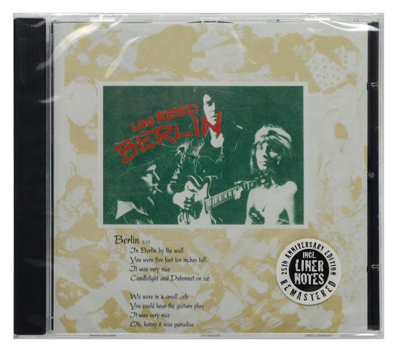 CD Lou Reed - Berlin - Remastered - Importado EU - Lacrado