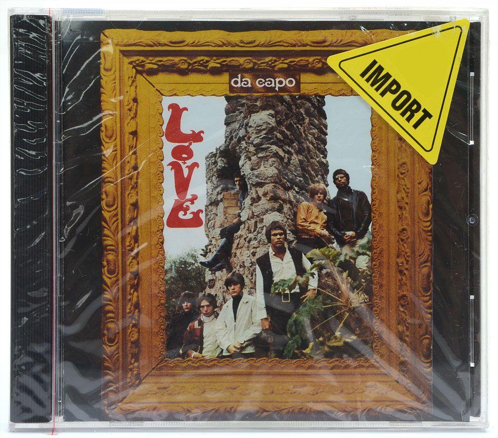 CD Love - Da Capo - Importado - Lacrado