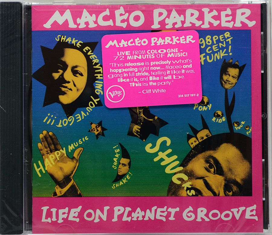 Cd Maceo Parker - Life On Planet Groove - Lacrado - Importado