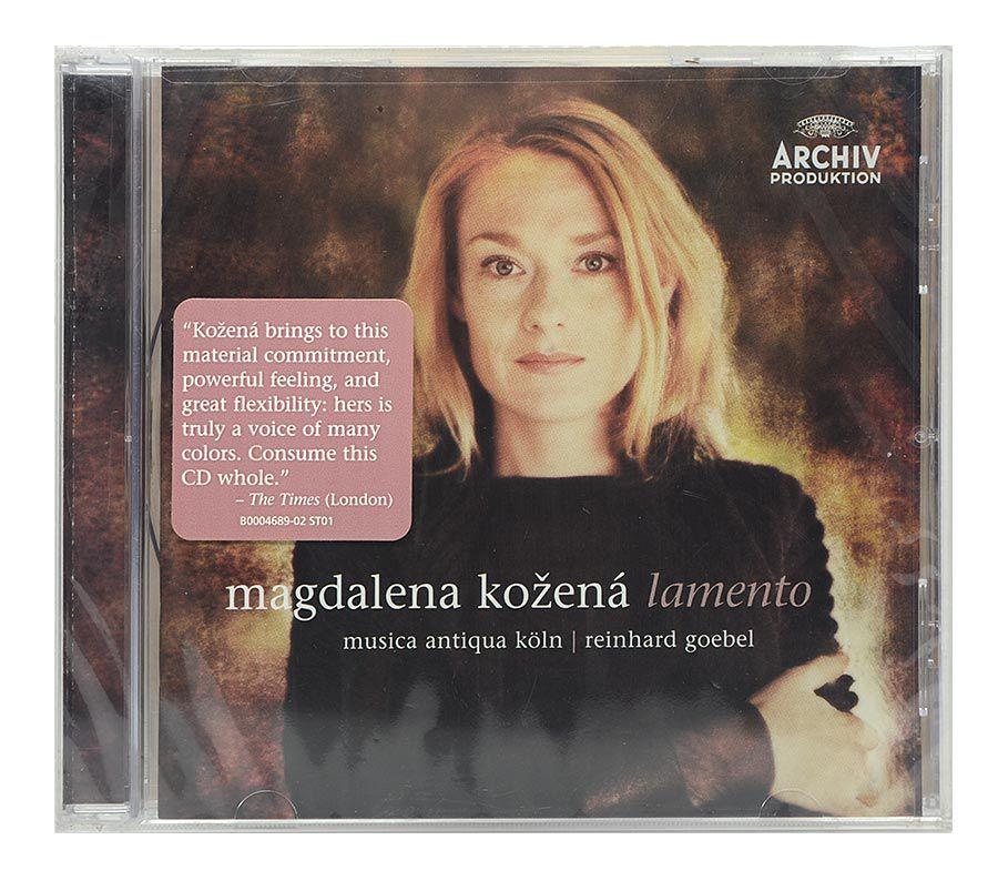 Cd Magdalena Kozena - Lamento - Importado - Lacrado