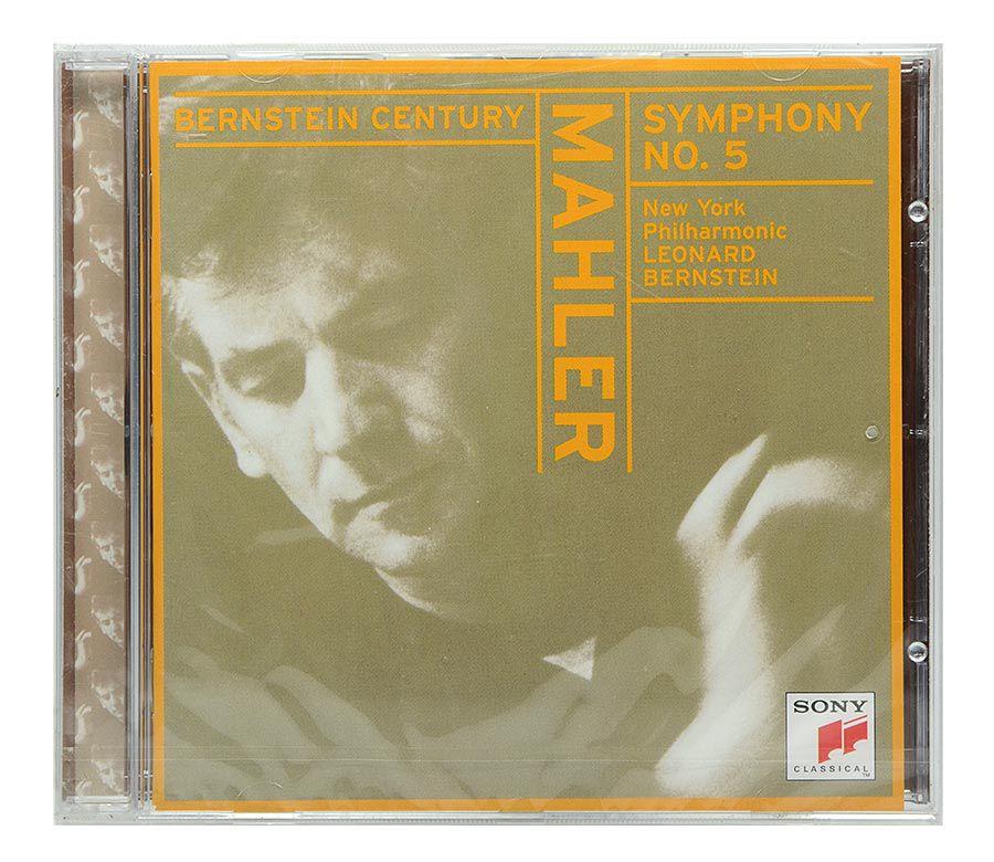 CD Mahler: Symphony No.5 - New York Philharmonic - Leonard Bernstein - Importado - Lacrado
