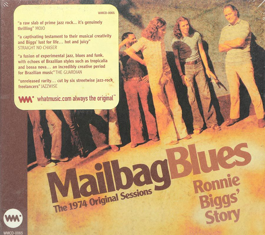 CD Mailbag Blues - Ronnie Biggs Story - Lacrado - Importado