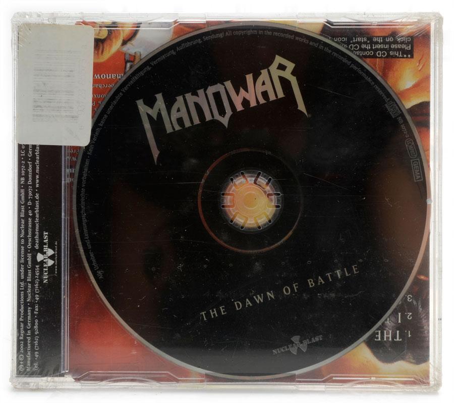 CD Manowar - The Dawn Of Battle - Importado - Lacrado