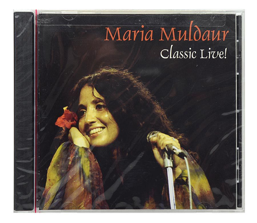CD Maria Muldaur - Classic Live - Importado - Lacrado