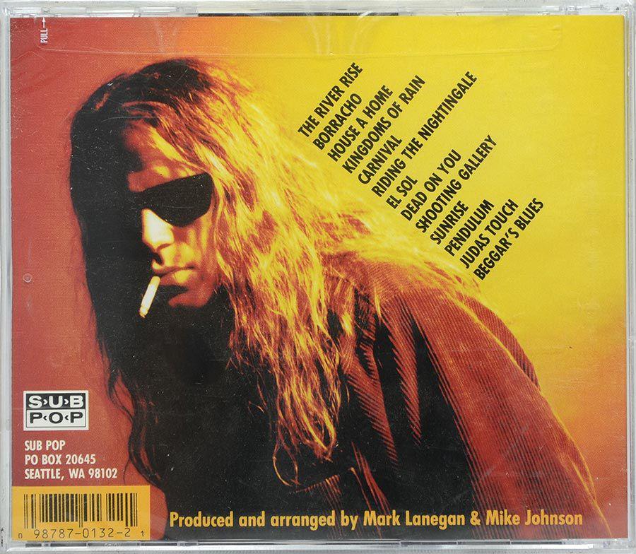 CD Mark Lanegan - Whiskey For The Holy Ghost - Lacrado - Importado