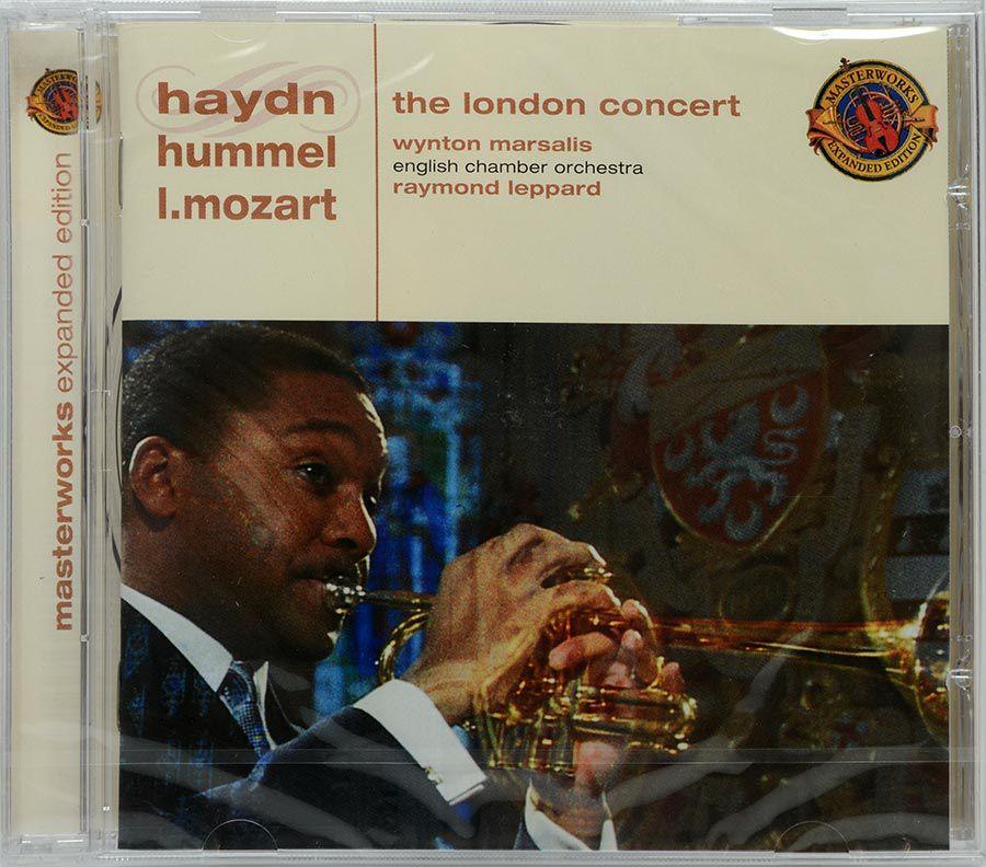 CD Marsalis The London Concert - Haydn Hummel Mozart - Lacrado - Importado