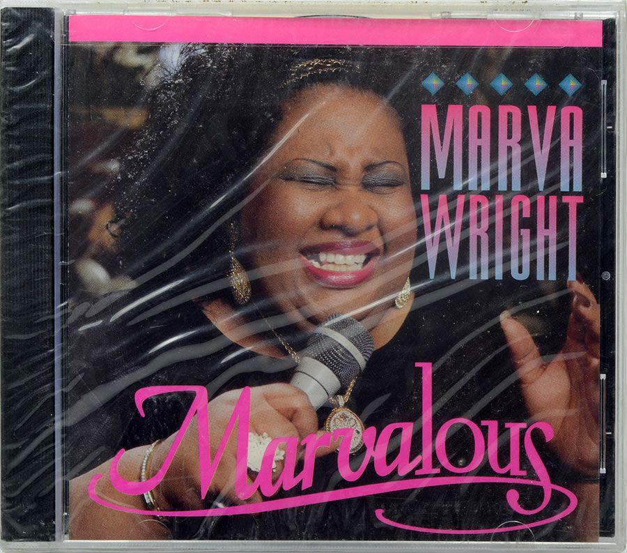 CD Marva Wright - Marvalous - Lacrado - Importado