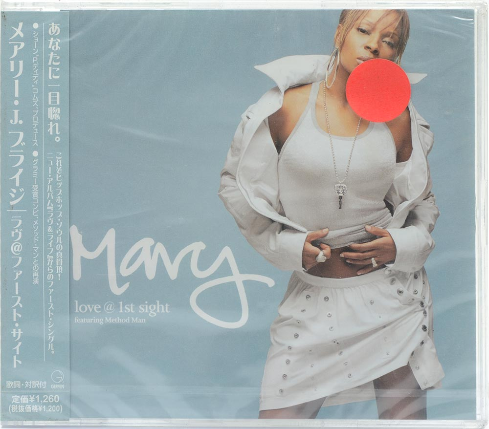 CD Mary J. Blige - Love @ 1st Sight - Importado - Lacrado