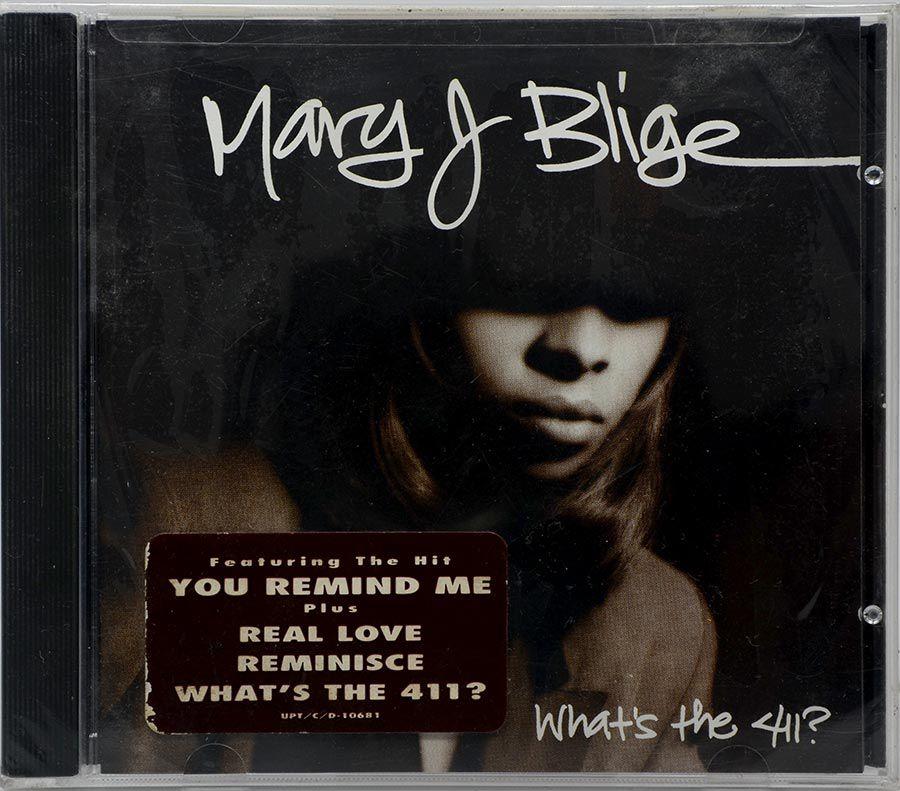 CD Mary J. Blige - What The 411? - Lacrado - Importado