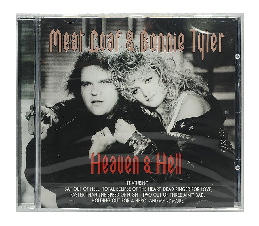 Cd Meat Loaf & Bonnie Tyler - Heaven & Hell - Importado - Lacrado