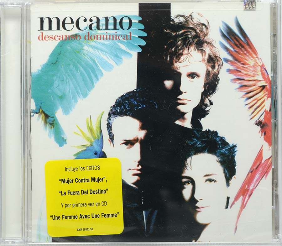 Cd Mecano - Descanso Dominical - Lacrado - Importado