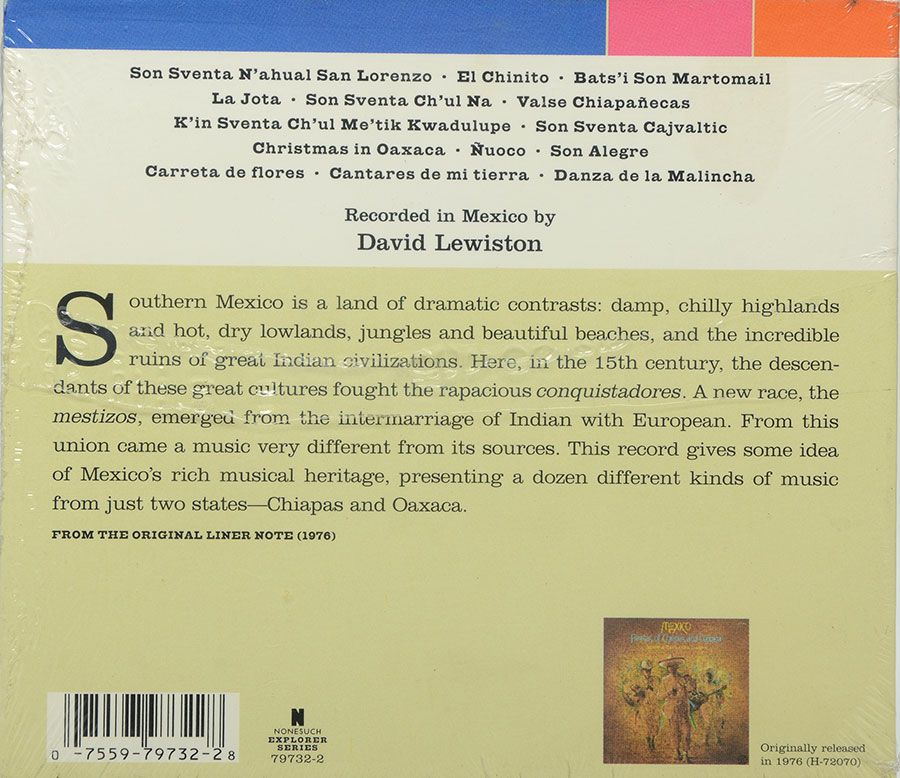Cd Mexico - Fiestas Of Chiapas And Oaxaca - Lacrado - Importado