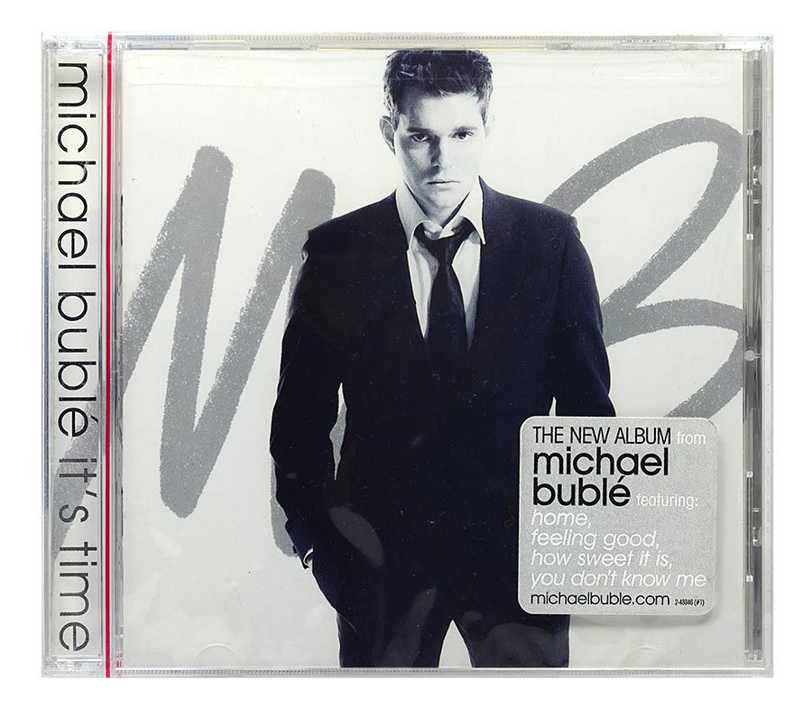 CD Michael Buble - Its Time - Importado USA - Lacrado