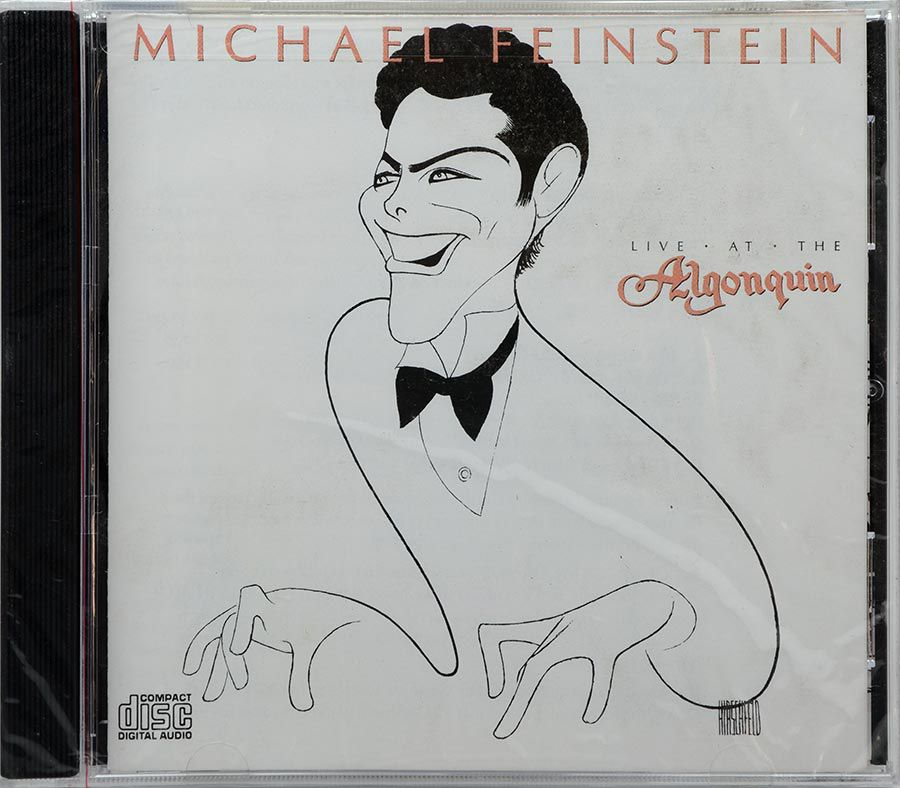CD Michael Feinstein - Live At The Algonquin - Lacrado - Importado
