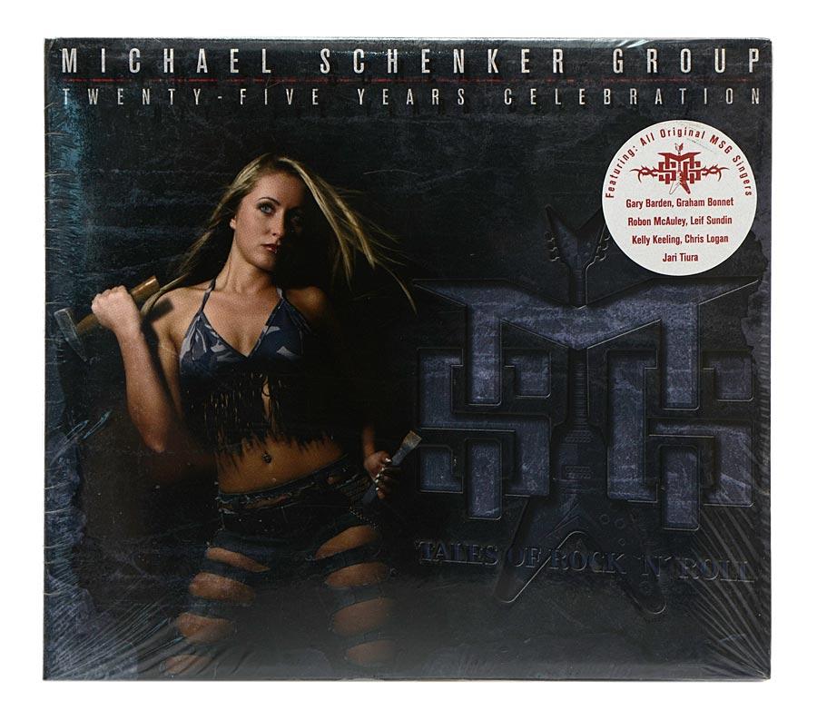 CD Michael Schenker Group - Tales Of Rock N Roll: Twenty Five Years Celebration - Digipack Importado - Lacrado