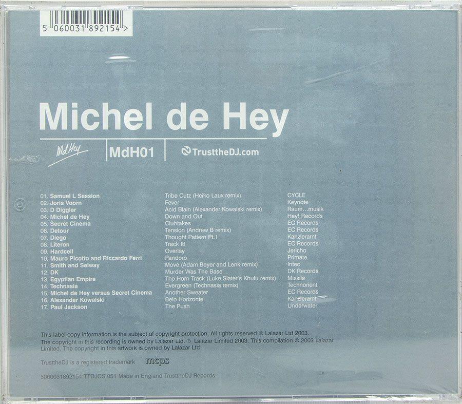 Cd Michel De Hey - Mdh01 - Lacrado - Importado