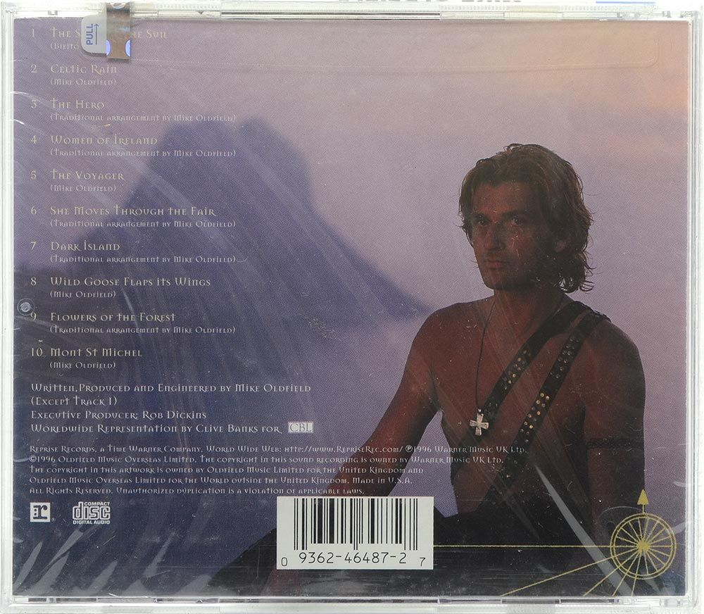 CD Mike Oldfield - Voyager - Importado - Lacrado