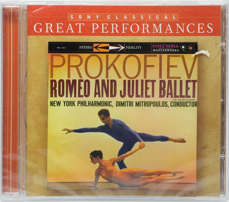 CD Mitropoulos - Prokofiev - Romeo And Juliet Ballet - Lacrado - Importado