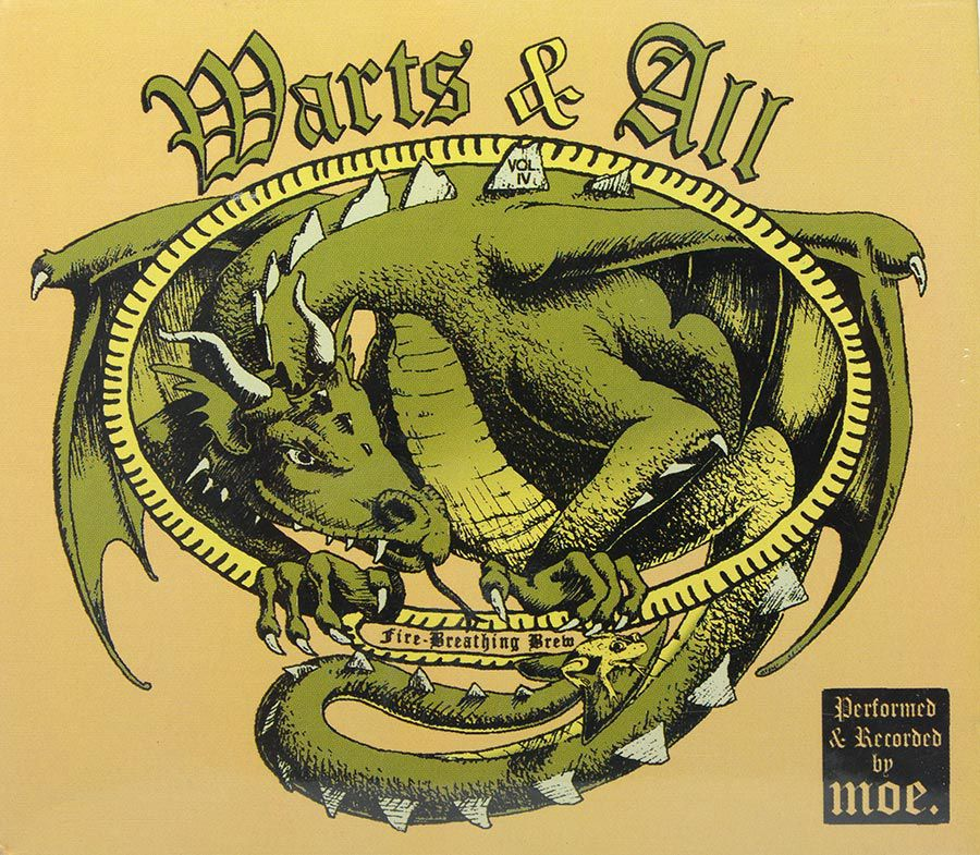 Cd Moe. Warts And All Vol 4 - Fire Breathing Brain - Lacrado - Importado