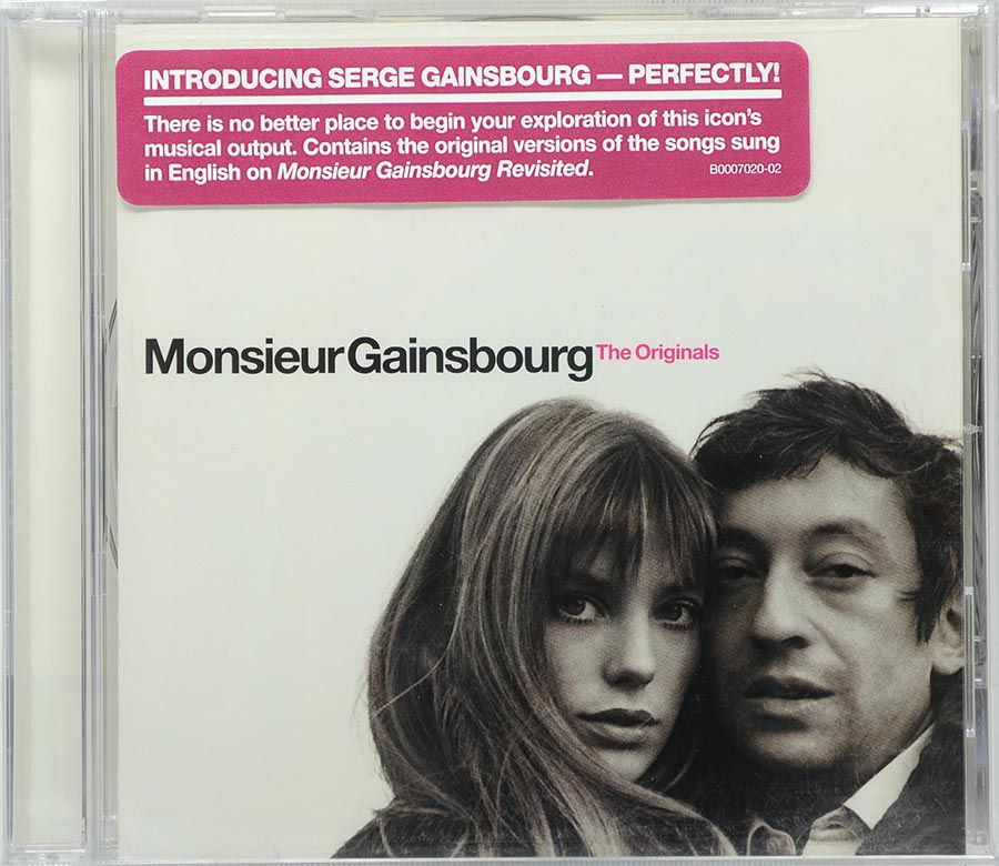 CD Monsieur Gainsbourg - The Originals - Lacrado - Importado