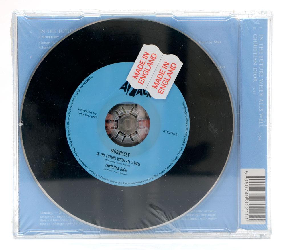 CD Morrissey - In The Future All's Well Parte 1 - Importado - Lacrado