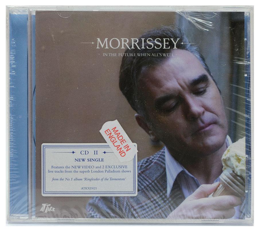 CD Morrissey - In The Future All's Well Parte 2 - Importado - Lacrado