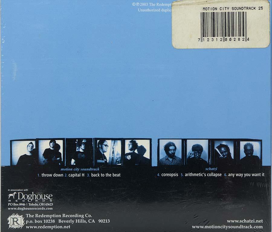 Cd Motion City Soundtrack - Schatzi - Lacrado - Importado