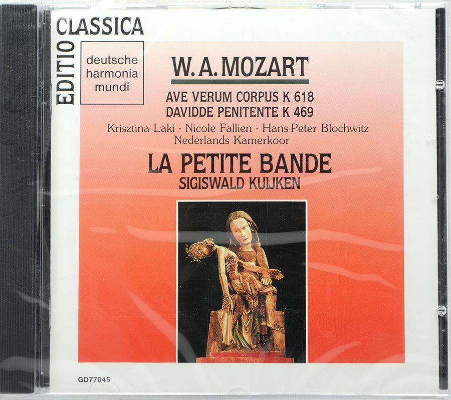 CD Mozart Ave Verum Corpus K618 / Davidde Penitente K469 - Lacrado - Importado