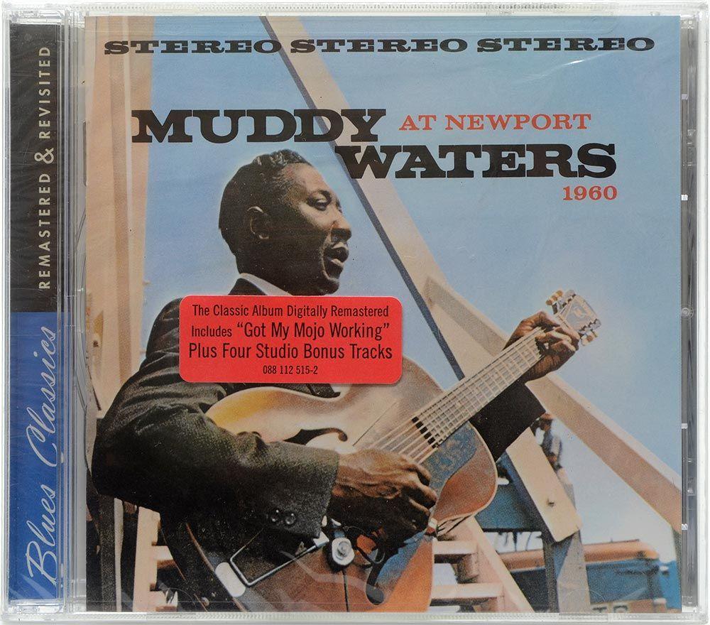 CD Muddy Waters - At Newport 1960 - Importado - Lacrado