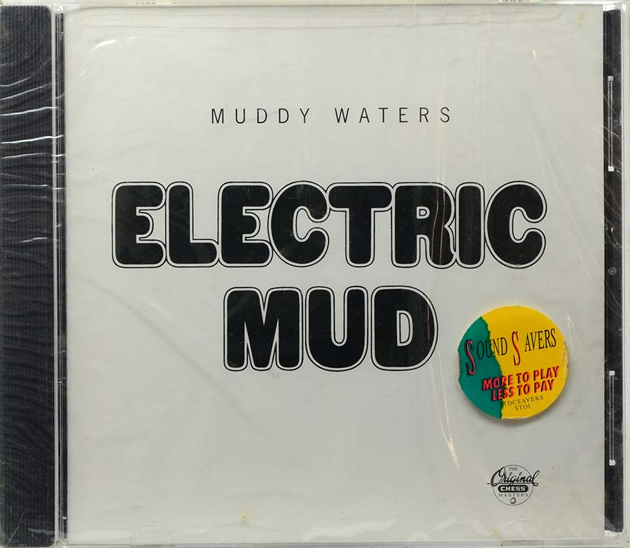 Cd Muddy Waters - Electric Mud - Lacrado - Importado