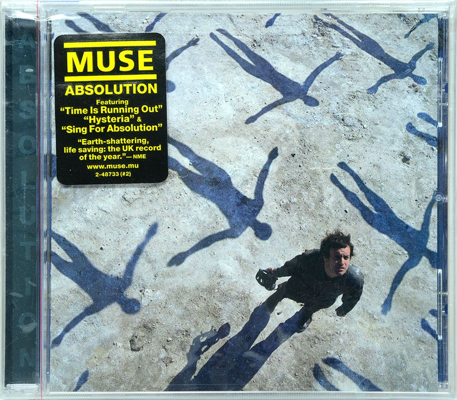 CD Muse  - Absolution - Lacrado - Importado