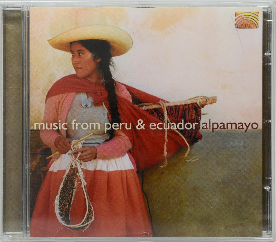 CD Music From Peru & Ecuador Alpamayo - Lacrado - Importado