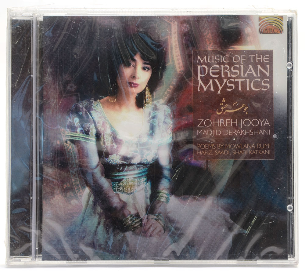 CD Music Of The Persian Mystics - Zohreh Jooya - Importado - Lacrado