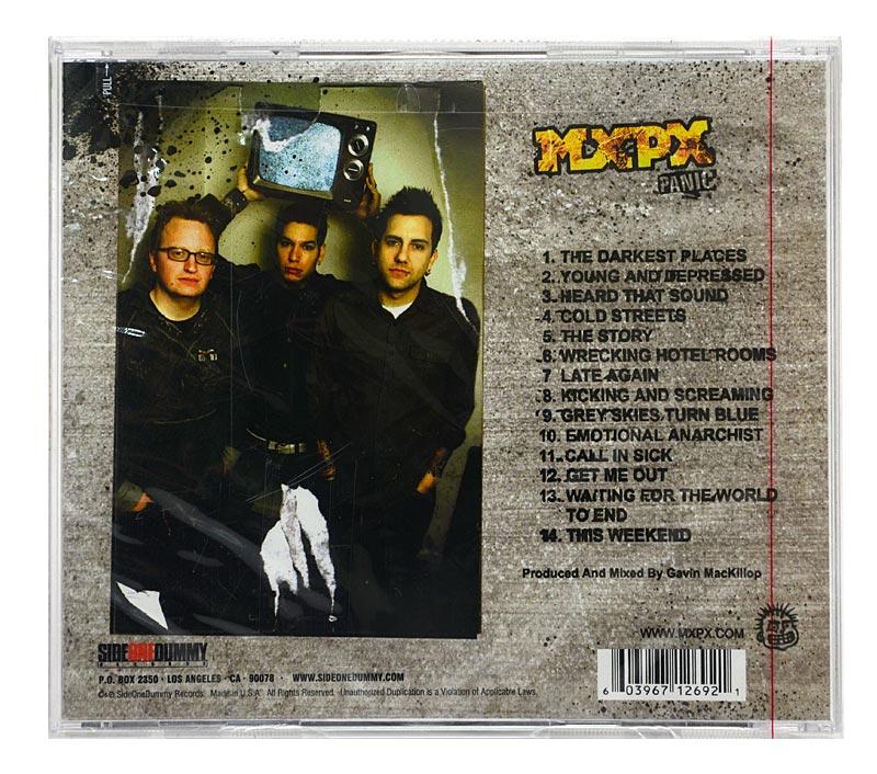 CD MXPX - Panic - Importado - Lacrado