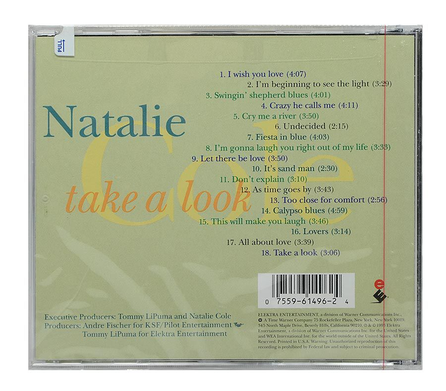 Cd Natalie Cole - Take a Look - Importado - Lacrado