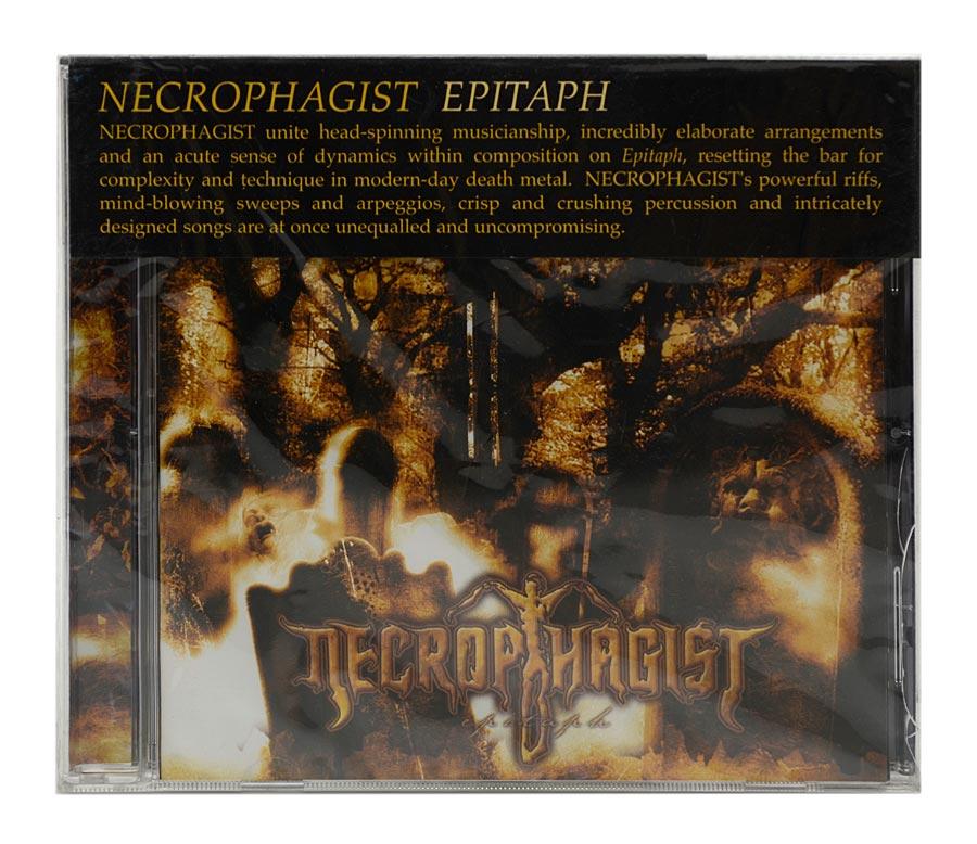 CD Necrophagist - Epitaph - Importado - Lacrado
