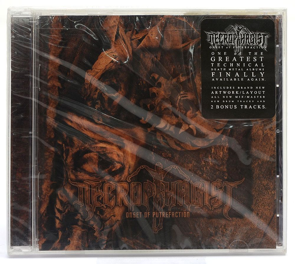 CD Necrophagist - Onset Of Putrefaction - Importado - Lacrado