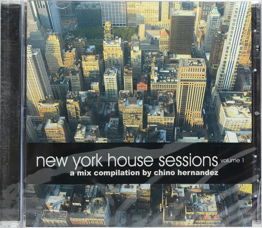 CD New York House Sessions Vol1 - A Mix Compilation By Chino Hernandez - Lacrado - Importado