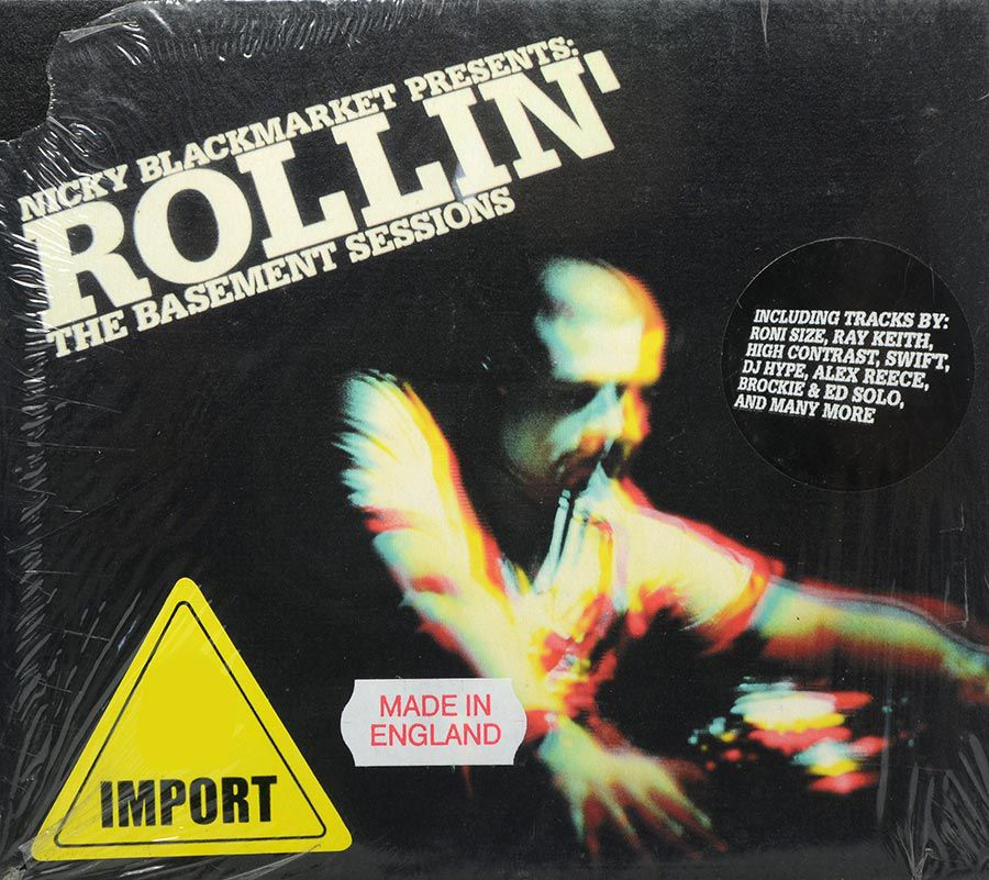 CD Nicky Blackmarket Presents Rollin - The Basement Sessions  - Lacrado - Importado