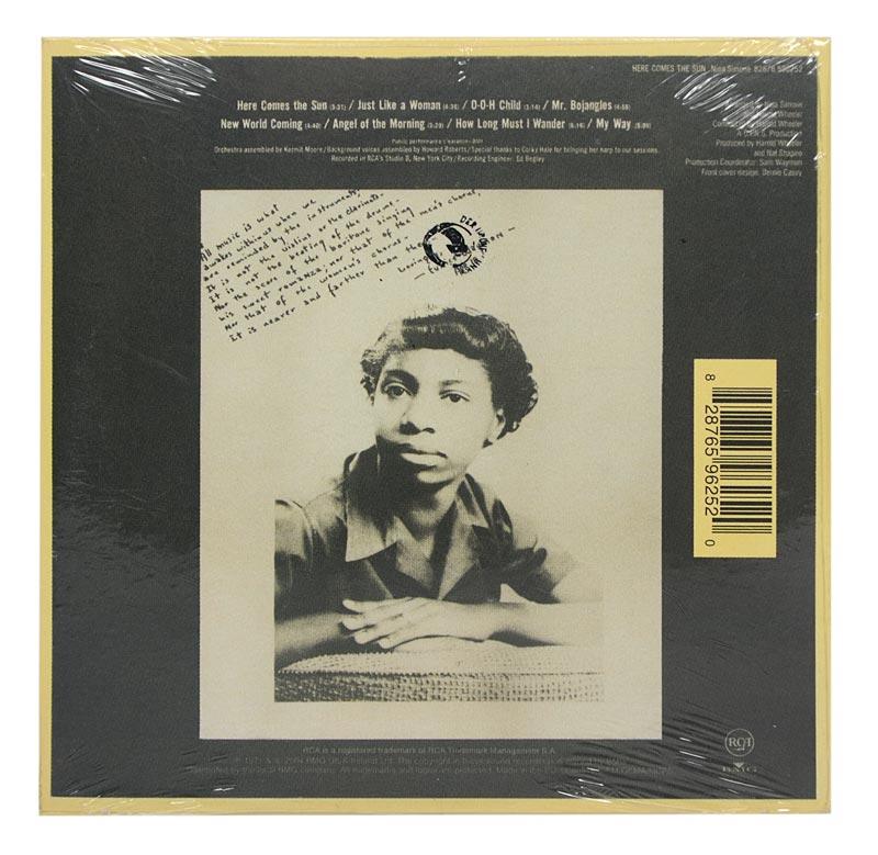 CD Nina Simone - Here Comes The Sun - Mini LP - Importado - Lacrado