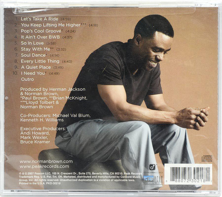 CD Norman Brown - Stay With Me - Lacrado - Importado