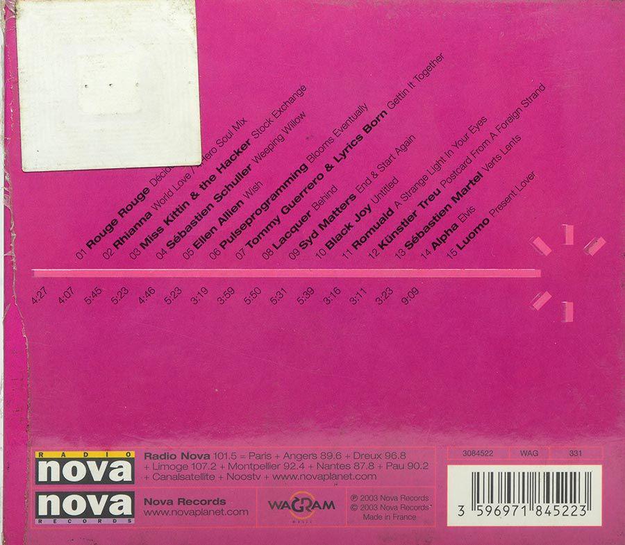 CD Nova Tunes - 08 - Vários Artistas - Lacrado - Importado