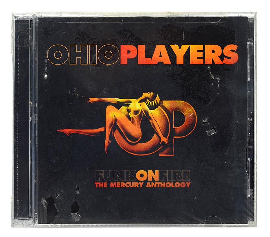 CD Ohio Players - Funk On Fire - Duplo - Importado - Lacrado