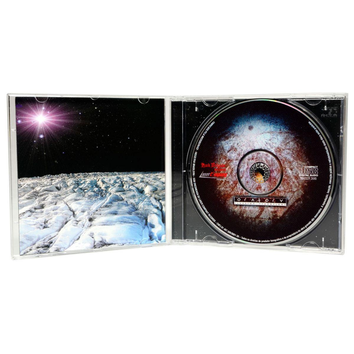 CD Oratory - Illusion Dimensions - Lacrado