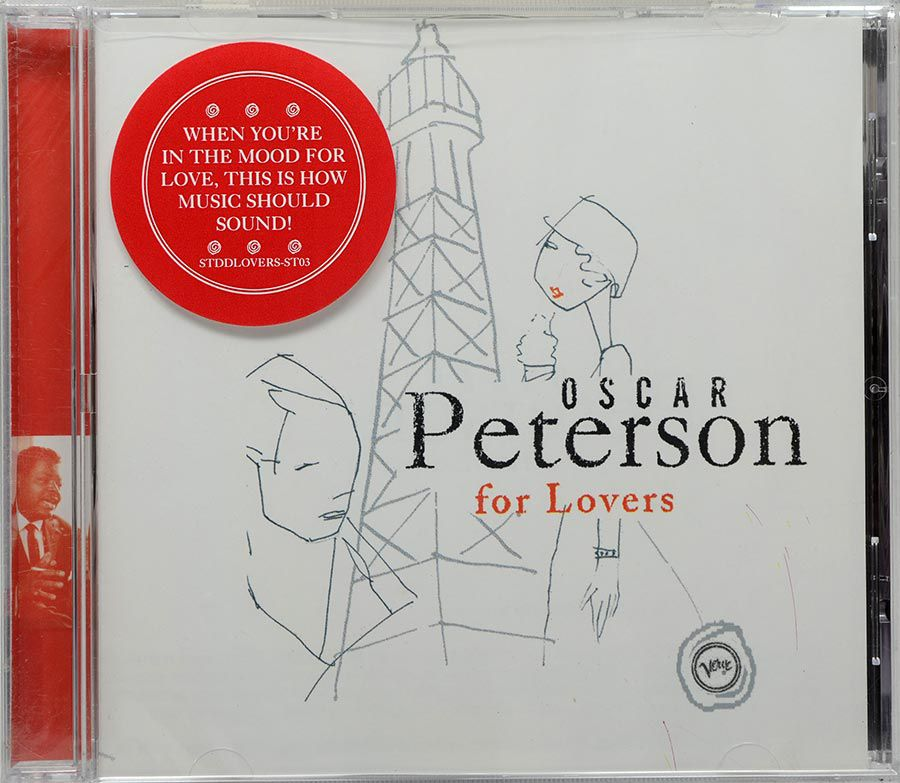 CD Oscar Peterson - For Lovers - Lacrado - Importado