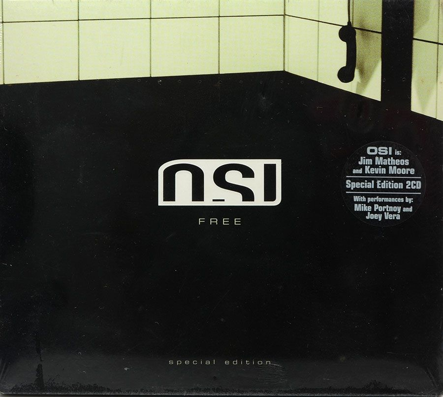 CD Osi - Free - Lacrado - Importado