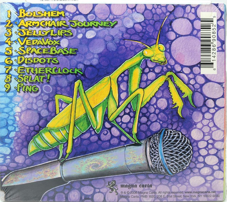 CD Ozric Tentacles - The Floors Too Far Away - Lacrado - Importado